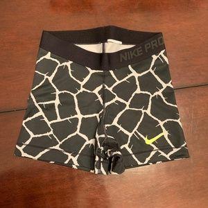 Nike Pro workout shorts, size small